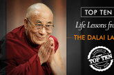 Top Ten Life Lessons from the Dalai Lama that'll give you Inner Peace