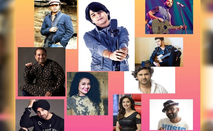 Top 10 latest Bollywood singers reining playlists